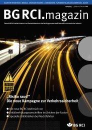 Info - Berufsgenossenschaft Rohstoffe und chemische Industrie