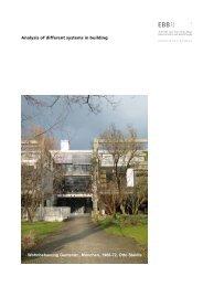 Aufgabenstellung - Lehrstuhl für Baukonstruktion und Baustoffkunde ...