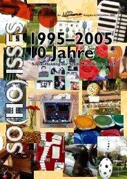 8. Ausgabe - 10 Jahre S-H, Dez.2005 - Sozial-Holding der Stadt ...
