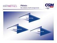 Phönix Das moderne Tarifvertragssystem - CGM