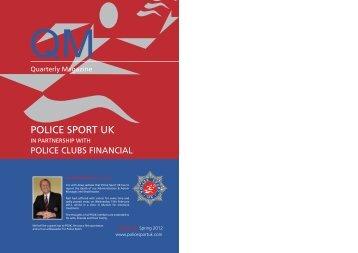 QM Magazine Spring 2012 - Police Sport UK