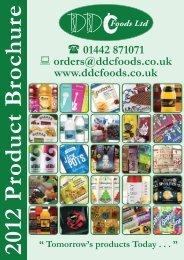 DDC Foods Ltd 2010 Product Brochure