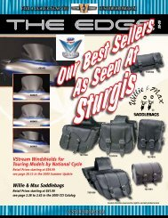 VStream Windshields for Touring Models by National Cycle Willie ...