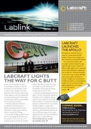 LABCRAFT LIGHTS THE WAY FOR C BUTT