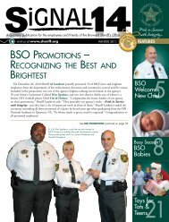 bso promotions - Broward Sheriff's Office
