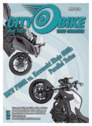 May, 2011 - CityBike - Level Five Graphics