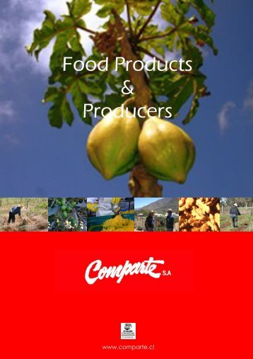 Food Products & Producers - Comparte