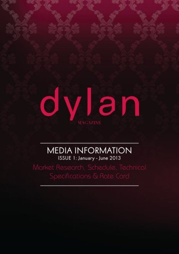 MEDIA INFORMATION - IMAGE Magazine