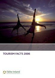 TOURISM FACTS 2006 - Failte Ireland