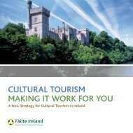 Cultural tourism making it work for you - Association of Irish Festival ...
