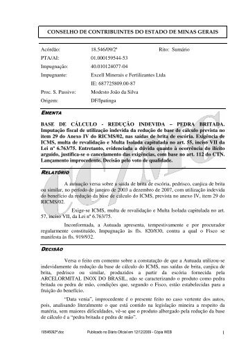 Microsoft Word - 18546092\252.doc - Secretaria de Estado de ...