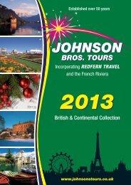 5 DAYS - Johnsons Bros. Tours