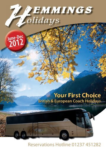 to download the June - December 2012 - Hemmings Coaches