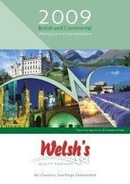 John & Judy Welsh - Welsh's Coach Holidays