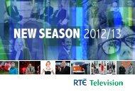 RTÉ Television - New Season 2012/13