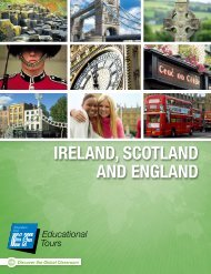 Ireland, Scotland and england - EF Educational Tours