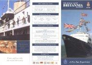 Royal Yacht Britannia - Glasgow Guide