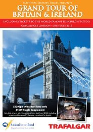 GRAND TOUR OF BRITAIN & IRELAND - National Seniors Australia
