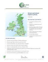 Britain and Ireland Explorer (2012) - britishislestouring.com ...