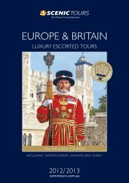 Europe and Britain - Scenic Tours