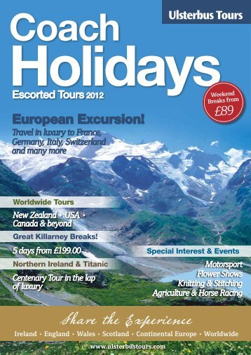 Download the full Ulsterbus Tours 2012 brochure - Translink