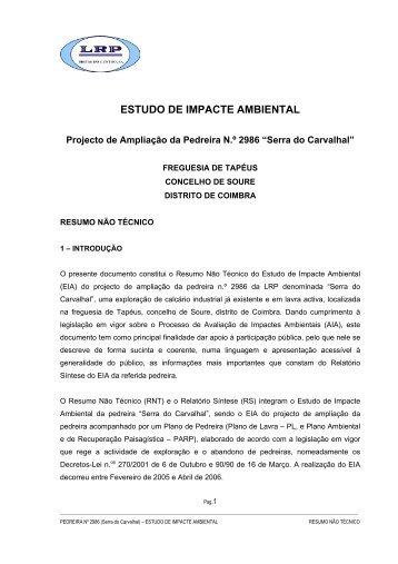 ESTUDO DE IMPACTE AMBIENTAL