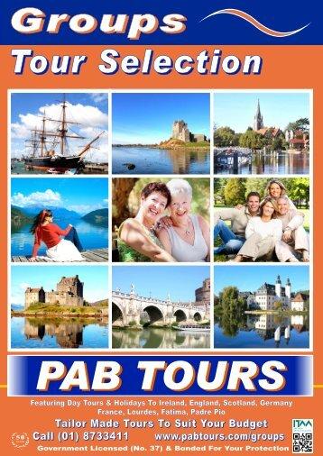 PAB Groups_Tours - PAB Coach Tours