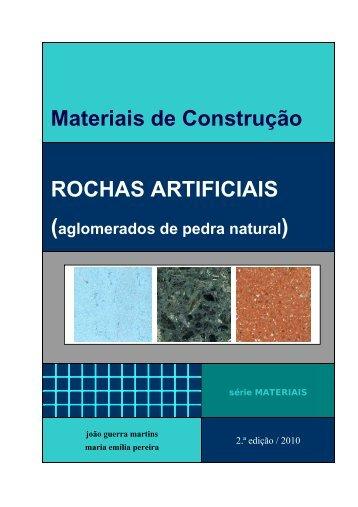 Materiais de Construção ROCHAS ARTIFICIAIS - Universidade ...