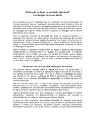 """""""Utilização de finos no concreto estrutural"""" - ABESC"""