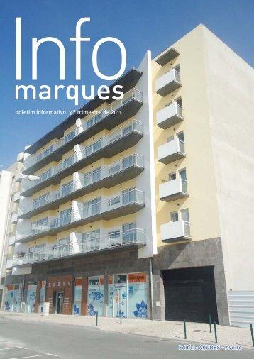 Infomarques 3º trimestre 2011.indd - Grupo Marques