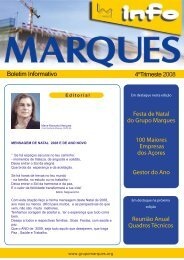 Trimeste 2008 - Grupo Marques