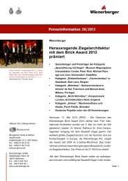 Presseinformation 20/2012