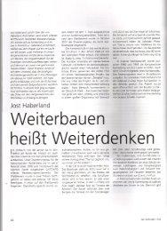 Artikel als .pdf-Datei - Haberland Architekten Berlin