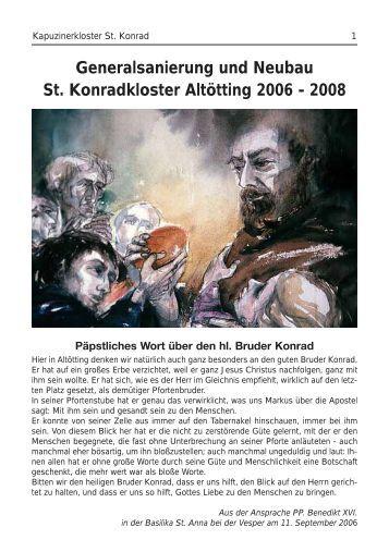 Hl. Bruder Konrad - Bruder Konrad von Parzham