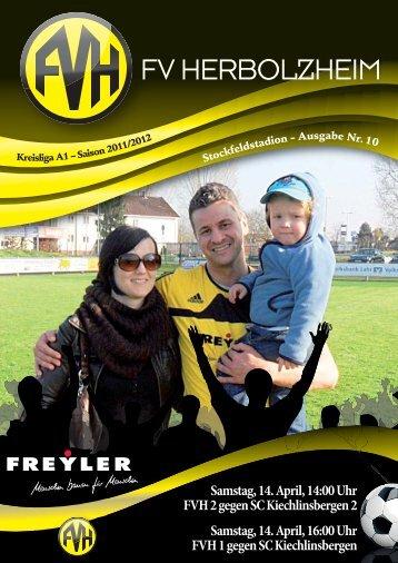 Stadionheft 12.05.2012 - Fußballverein Herbolzheim eV