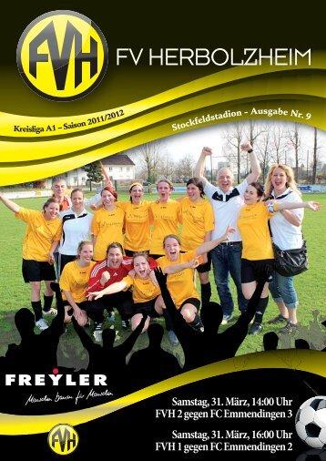 FV Herbolzheim Stadionheft News 2011-2012.indd - Fußballverein ...