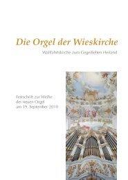 Die Orgel der Wieskirche - iWEST