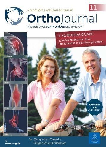 OrthoJournal - Regensburger OrthopädenGemeinschaft