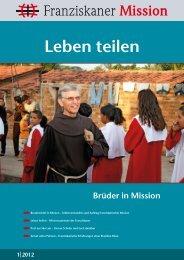 Franziskaner Mission 1-2012