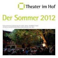 Theater im Hof Der Sommer 2012 - Stadt Kandern