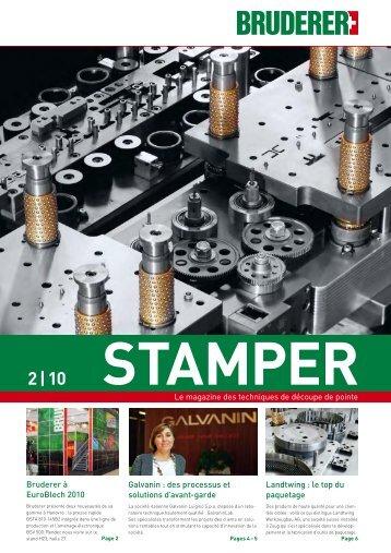 2 | 10 Stamper - E. Bruderer Maschinenfabrik AG