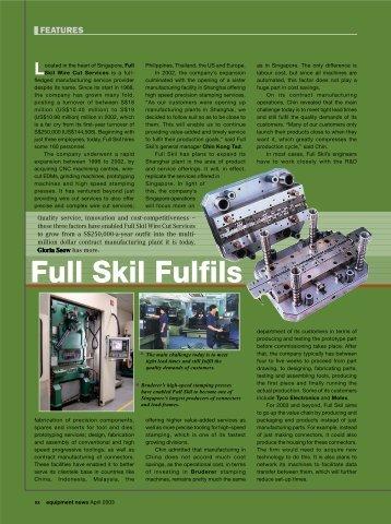 Full Skil fulfils