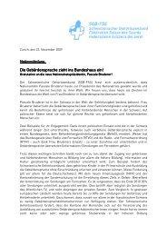 Medienmitteilung Pascale Bruderer_D - beim Schweizerischen ...