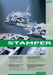 STAMPER 2/07 De - E. Bruderer Maschinenfabrik AG