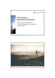 Windenergie in Appenzell Ausserrhoden - Industrieverein Appenzell ...