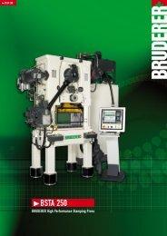 BSTA 250 - BRUDERER MACHINERY