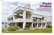 starke Struktur - Stähli AG Architekten SIA