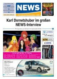 Karl Dornetshuber im großen NEWS-Interview - NEWS-ONLINE.at