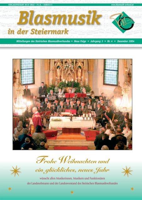 Frohe Weihnachten und ein glückliches, neues Jahr - Steirischer ...
