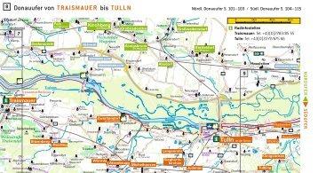 Donauufer von TRAISMAUER bis TULLN - Donau Niederösterreich